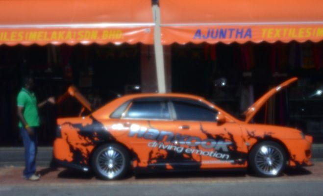 orange - pinhole / lochkamera