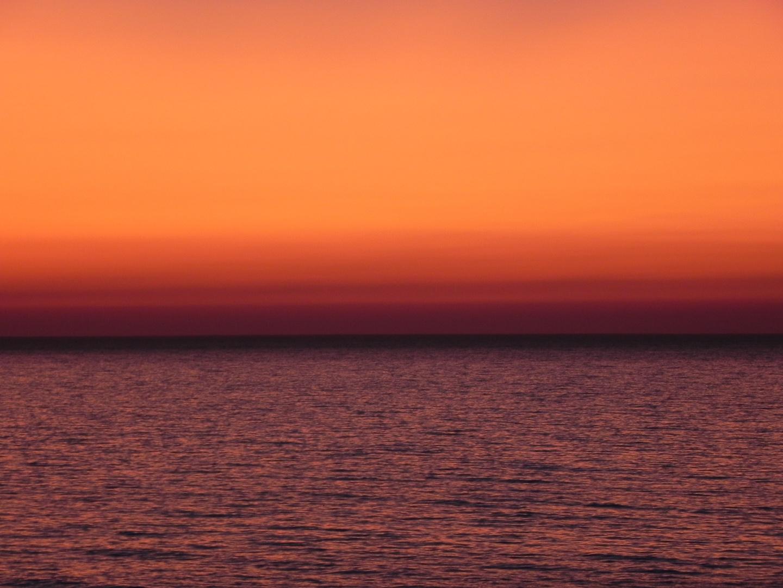 Orange Sea