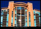 Orange Skyscraper - South Beach, Miami Beach, Florida