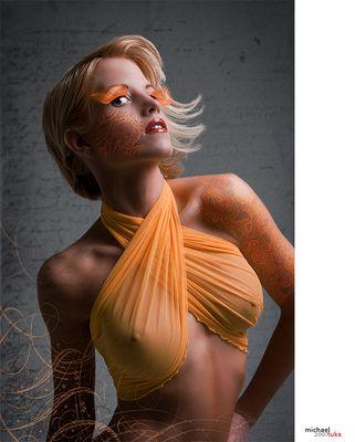 …orange tattoos…
