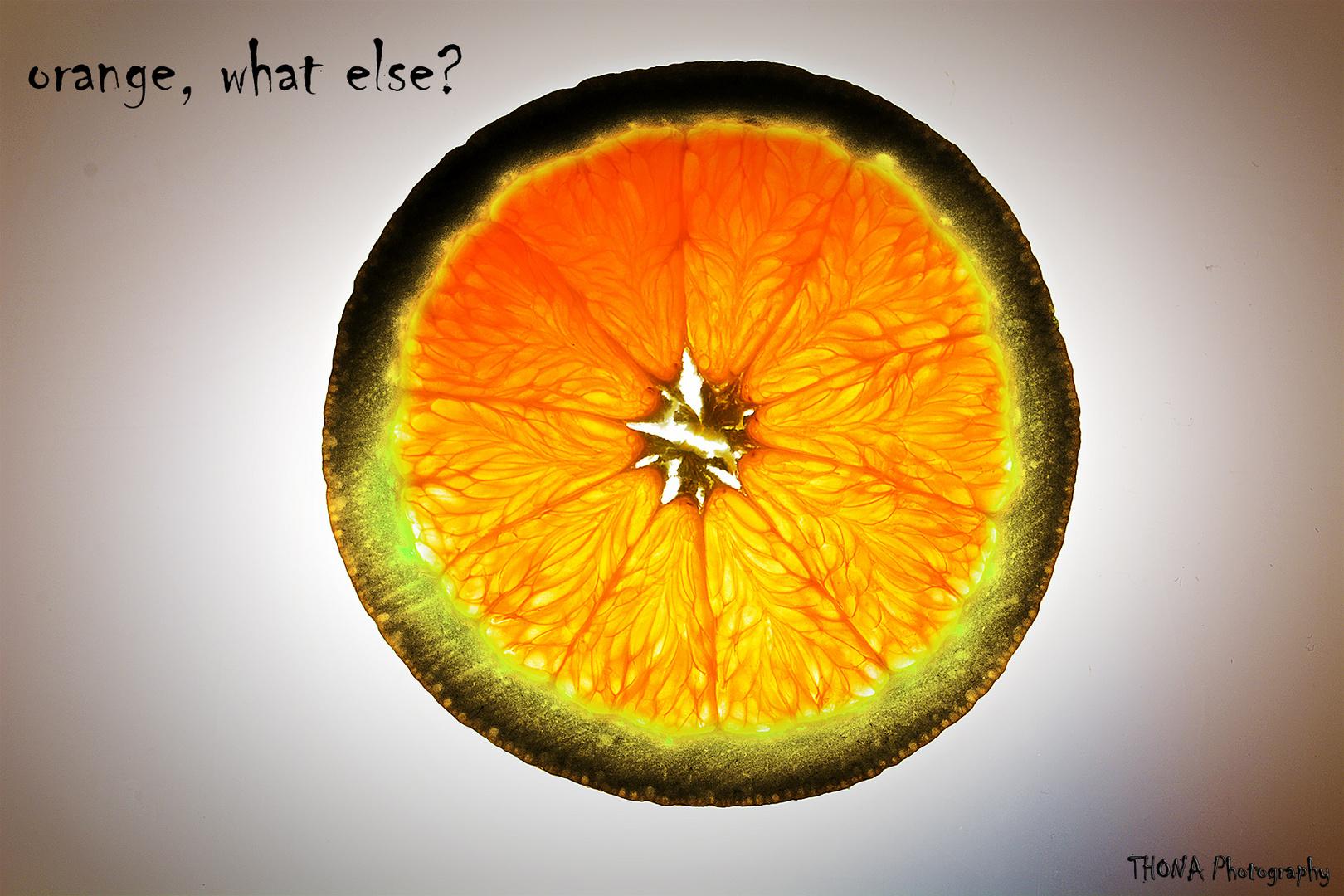 orange, what else?