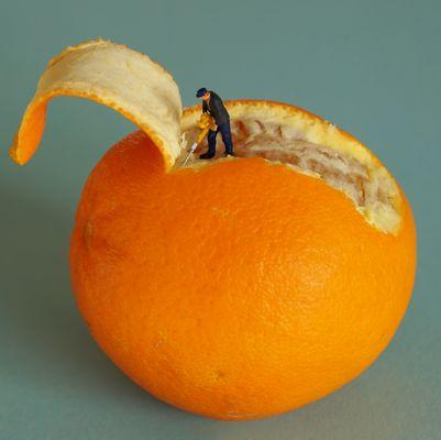 Orangen-Schäler
