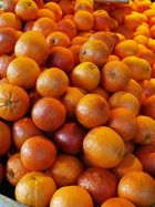 Orangen zum Verkauf