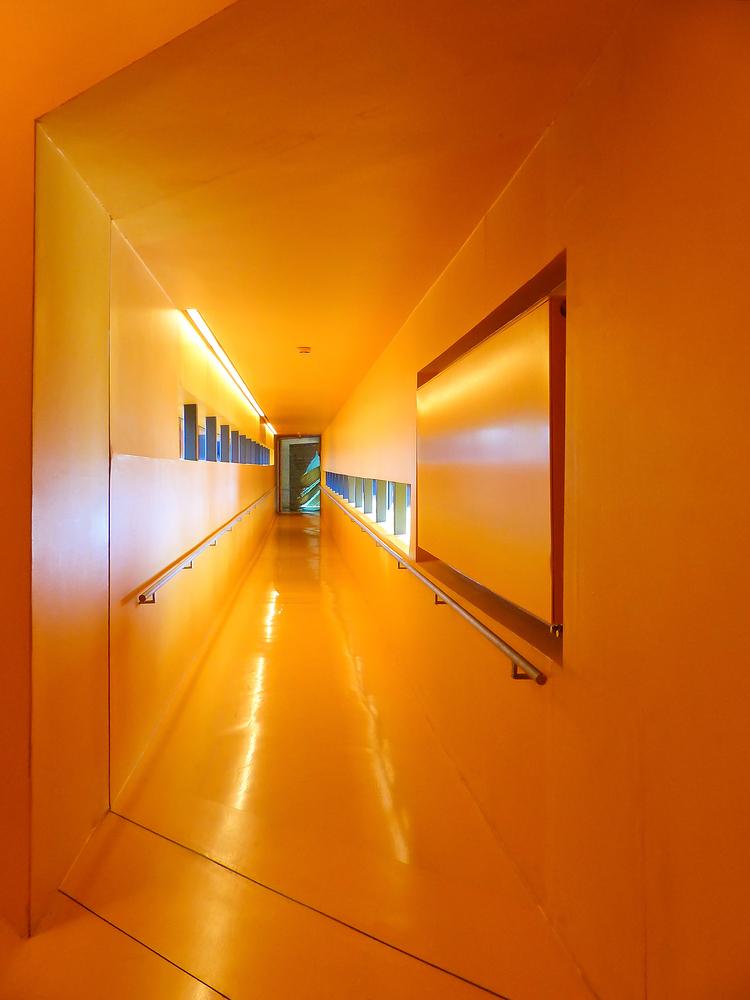 Orangene Stunde