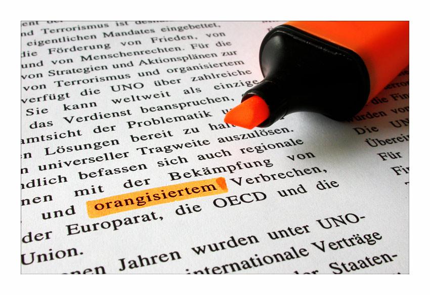 orangisiert ... von Matthias Frei
