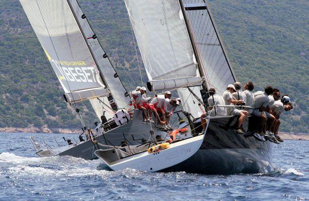 ORC GP 42 first class regatta at Croatian Grand Prix June 2007
