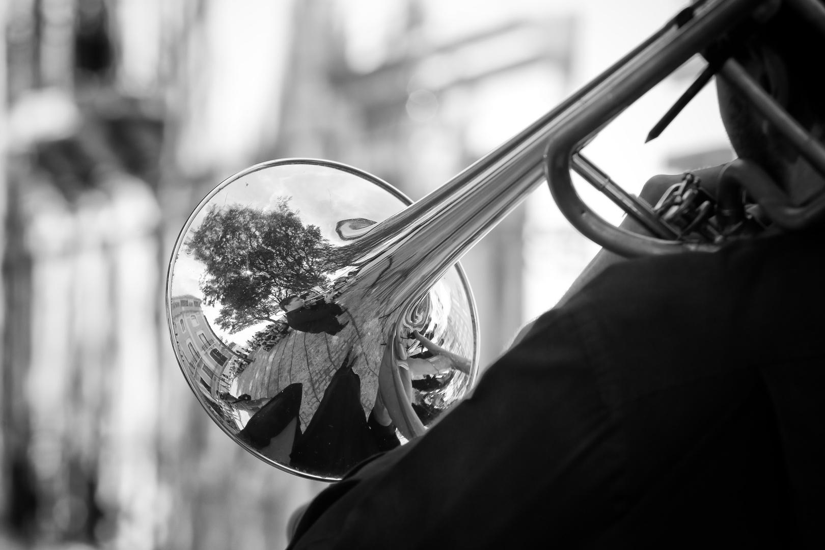 Orchester im Rückspiegel