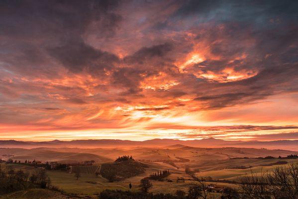 Orcia Sunrise