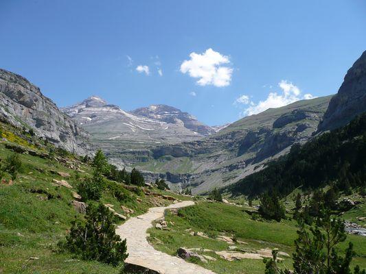 Ordesa Nationalpark Pyrenäen Spanien