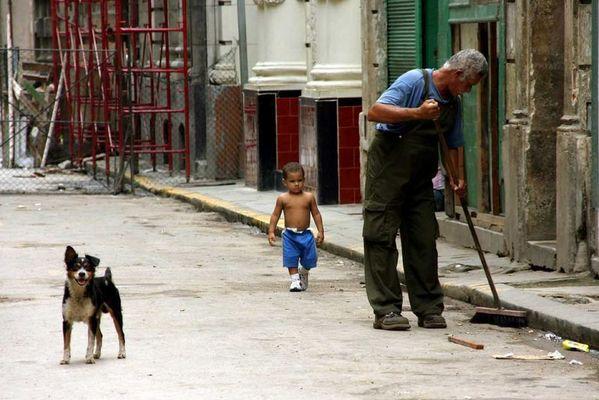 Ordnungskräfte in Havanna, Sept. 2006