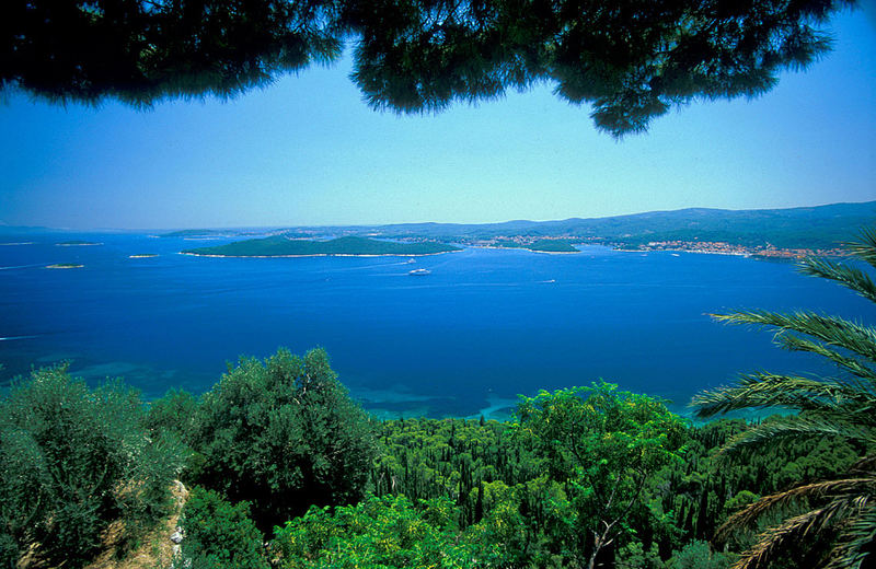Orebic-View from monastery-Adriablue forever