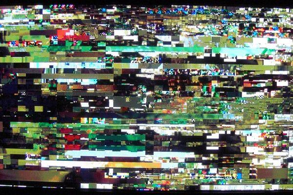 ORF 1 digitale Bildstörung