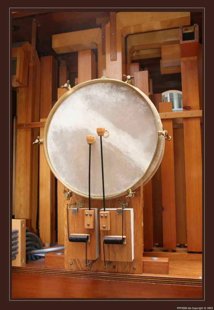 Orgel Backstage