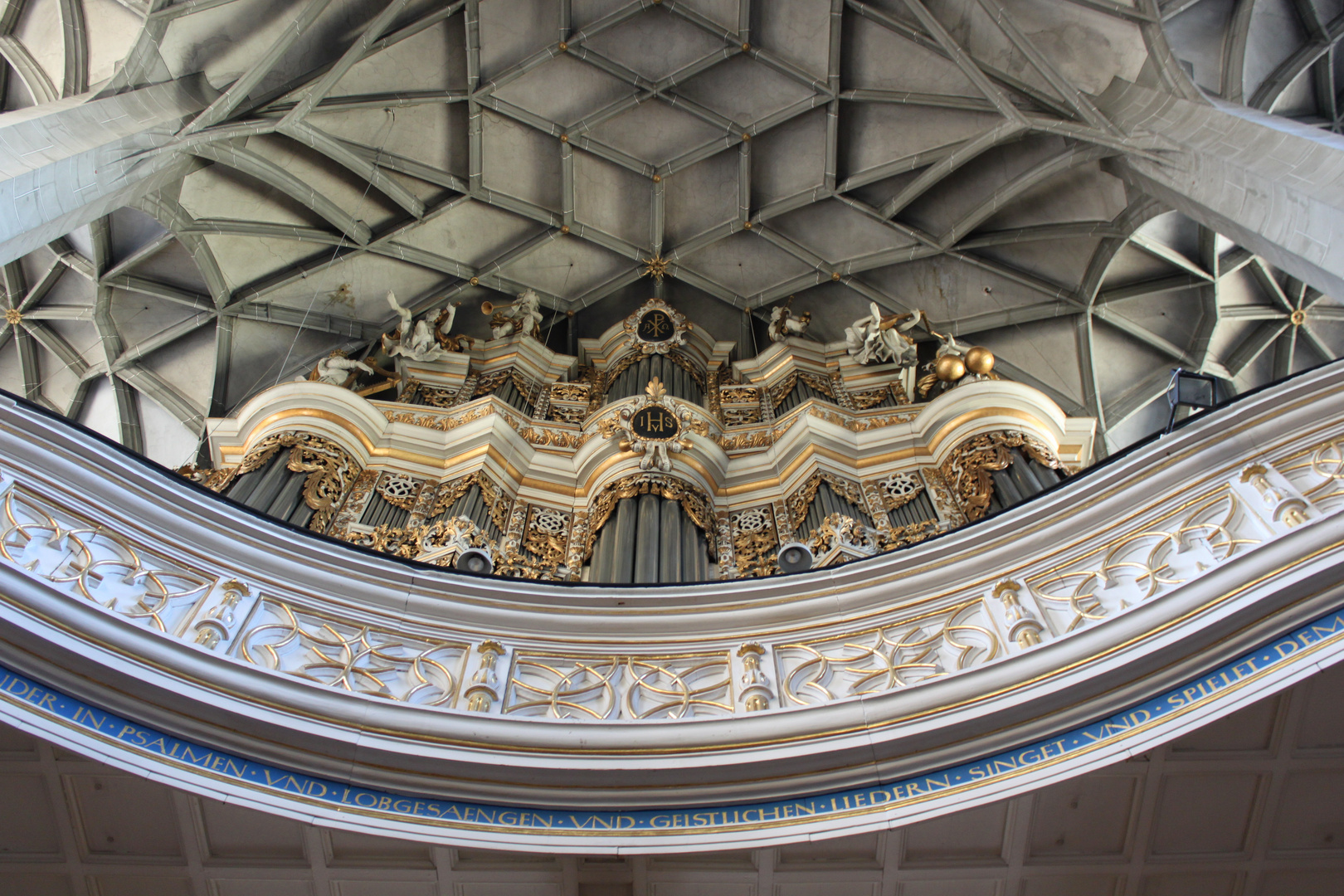 Orgel bei uns in Halle/Saale