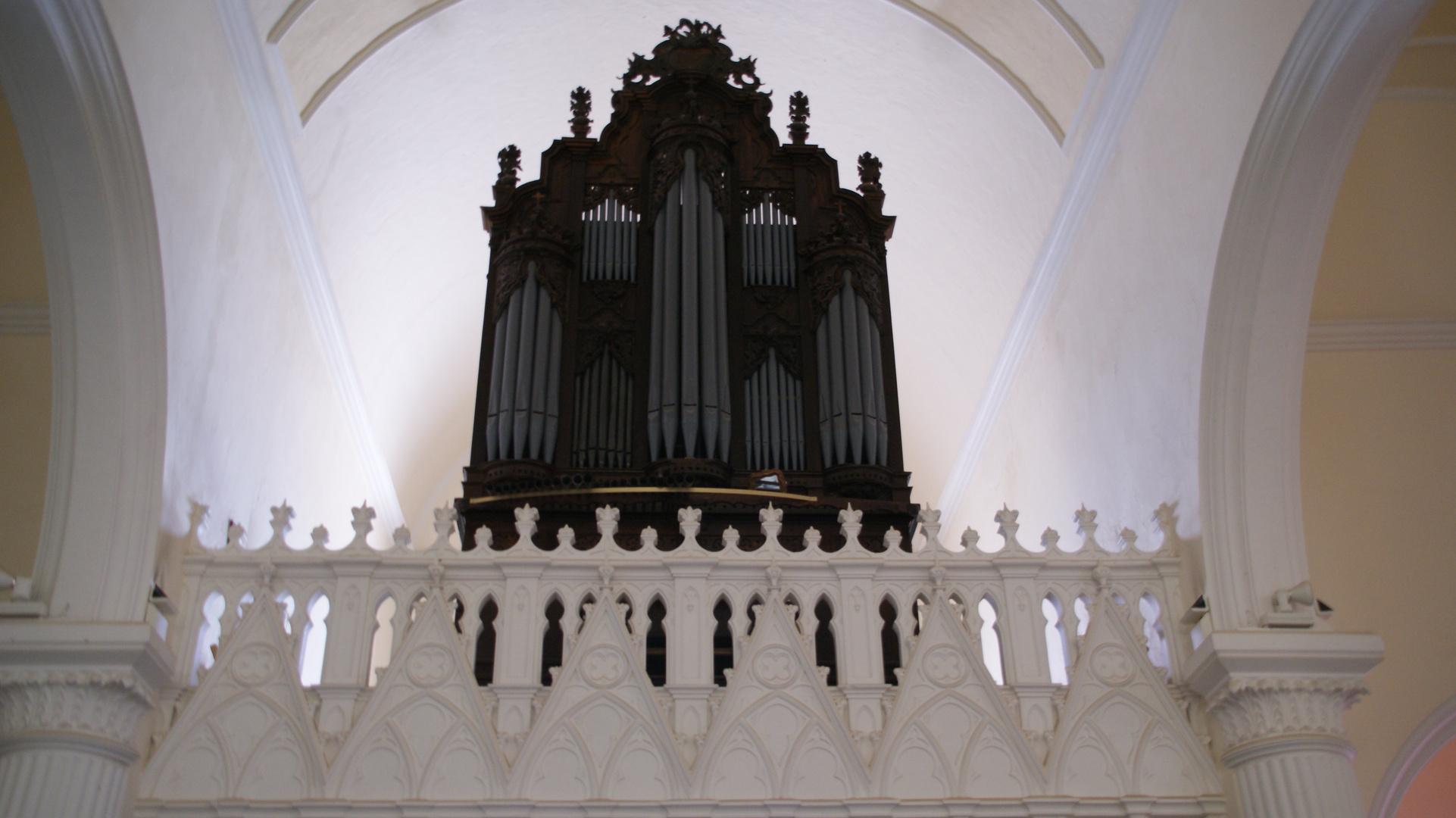 Orgel der Kirche-Lanzarote