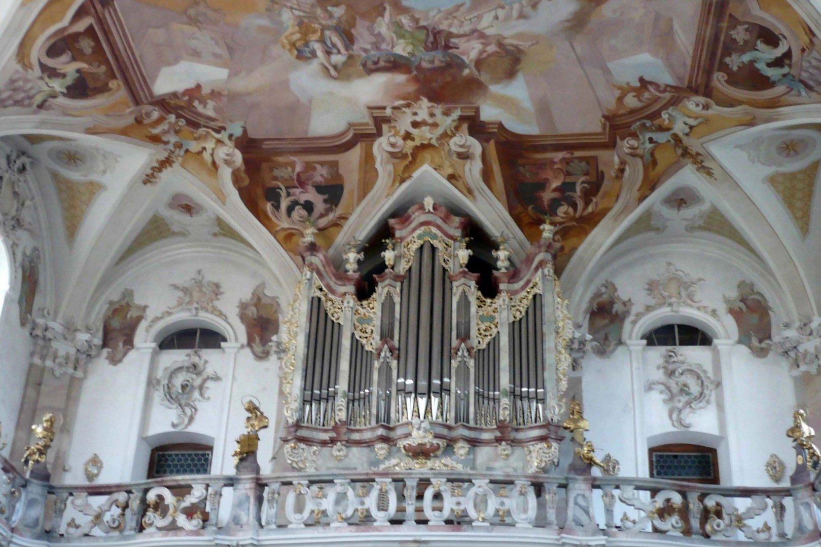 Orgel der Klosterkirche Birnau