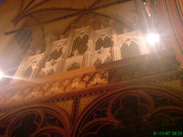 Orgel der Kultukirche Jacobi