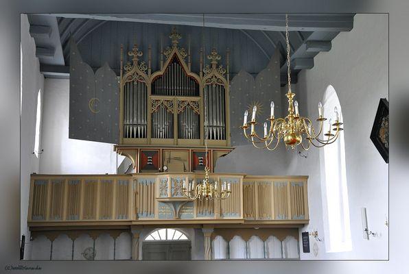 Orgel der Rysumer Kirche