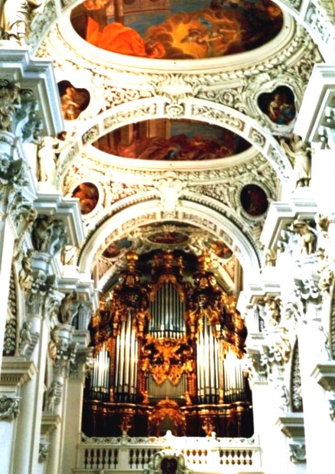 Orgel im Passauer Dom