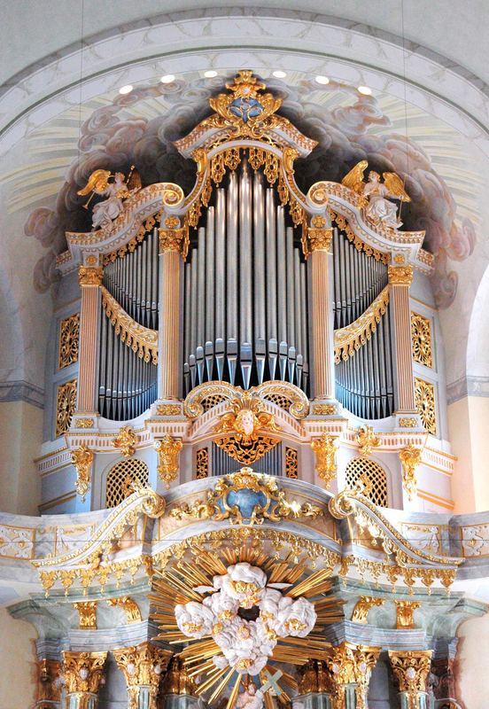 Orgel in der Dresdener Frauenkirche
