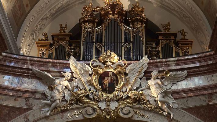 Orgel in der Karlskirche Wien
