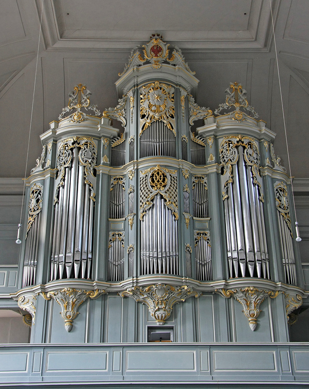 Orgel in St.Gumbertus, Ansbach