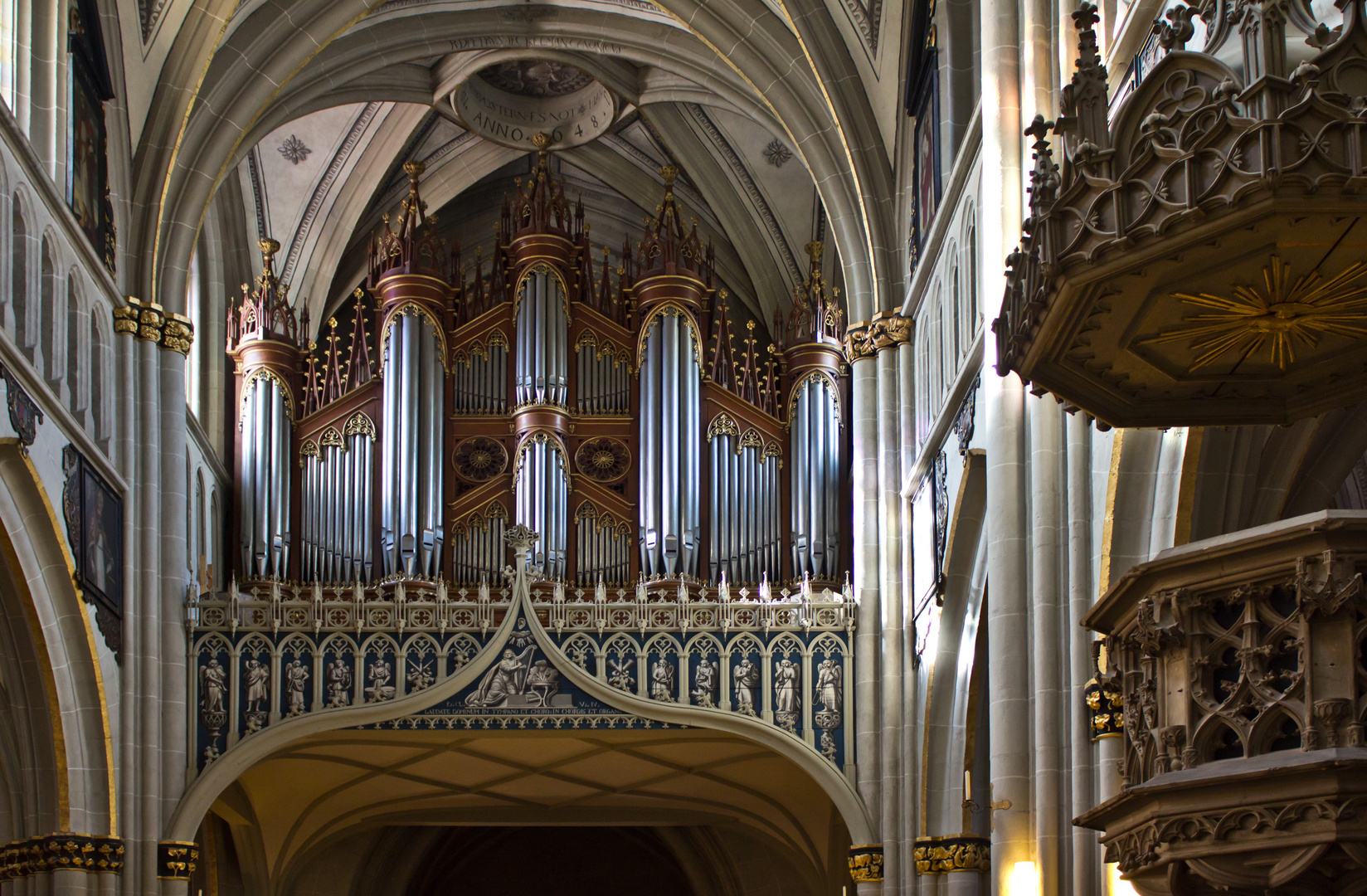 Orgel Kathedrale St. Nicolas Fribourg