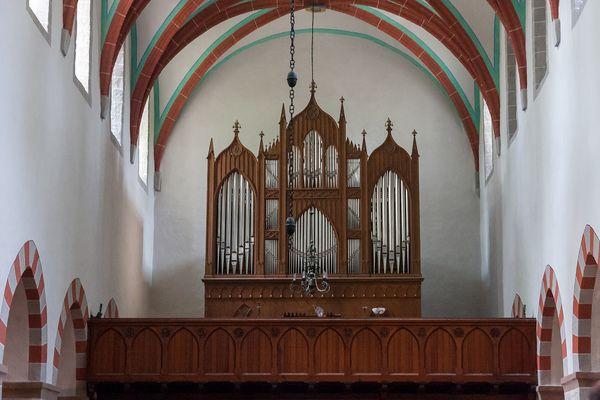 Orgel Klosterkirche Zinna
