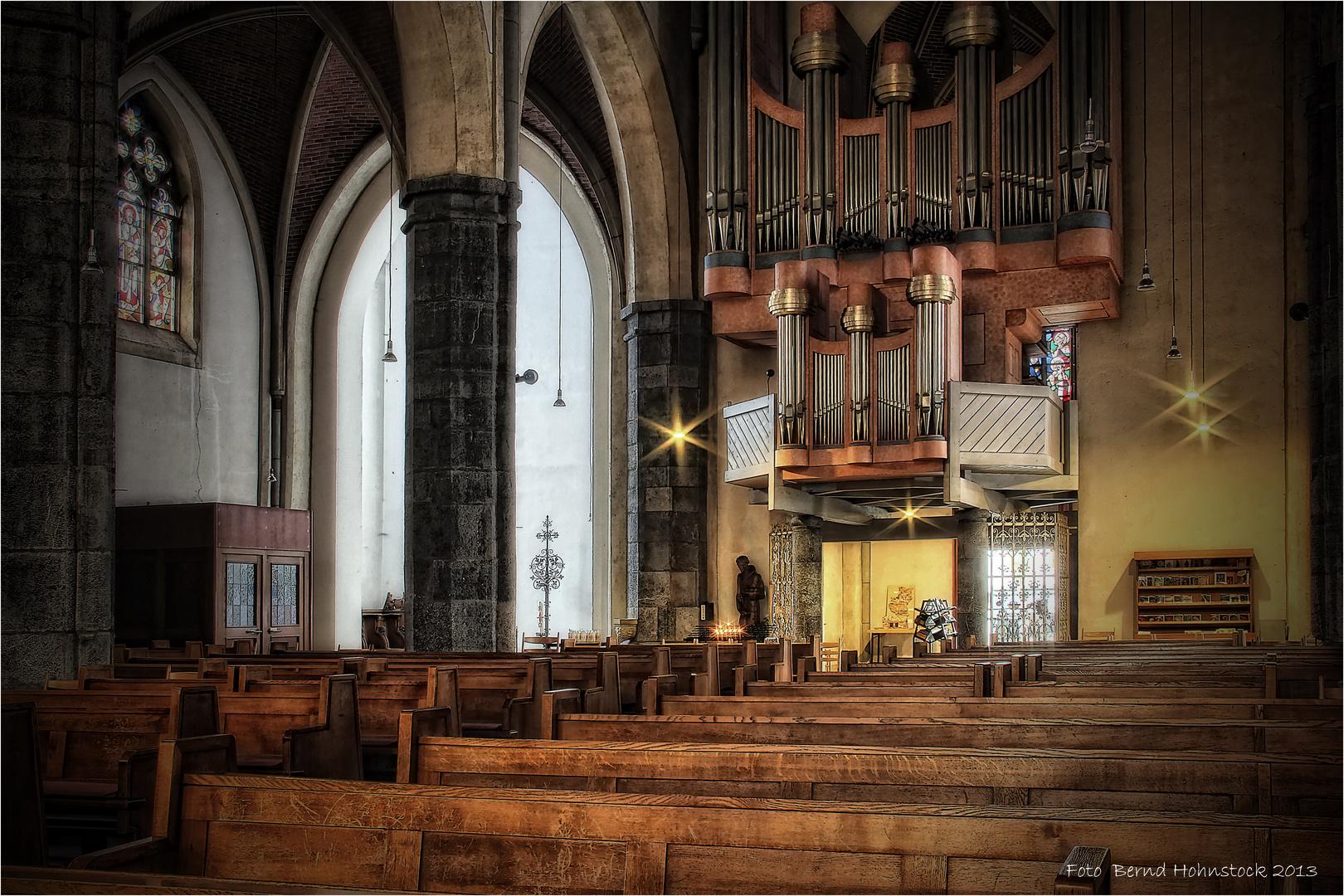 Orgel St. Remigius Viersen ...