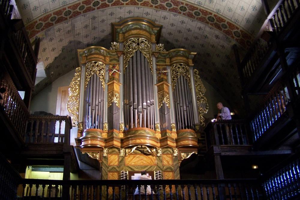 Orgues de l'église de St Etienne de Baïgorri