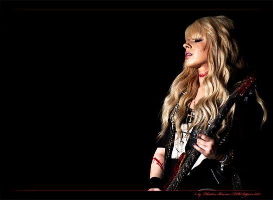 Orianthi Joins, Alice Cooper Mülheim 13. 11.11