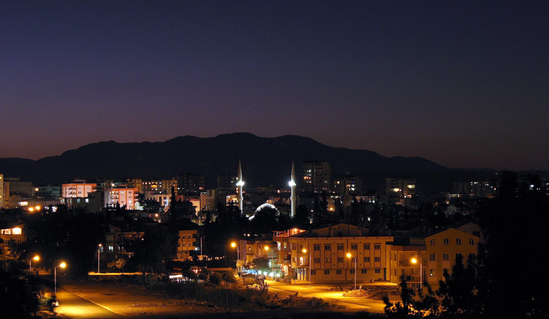 [ oriental night in Turkey ]