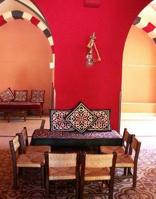 Orientalische Sitzgruppe