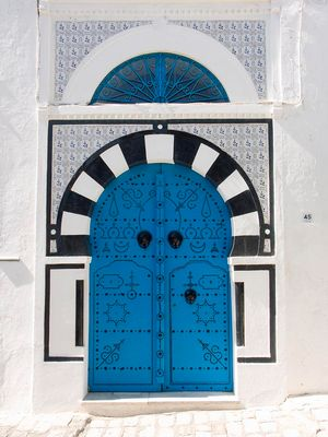 Orientalische Tür
