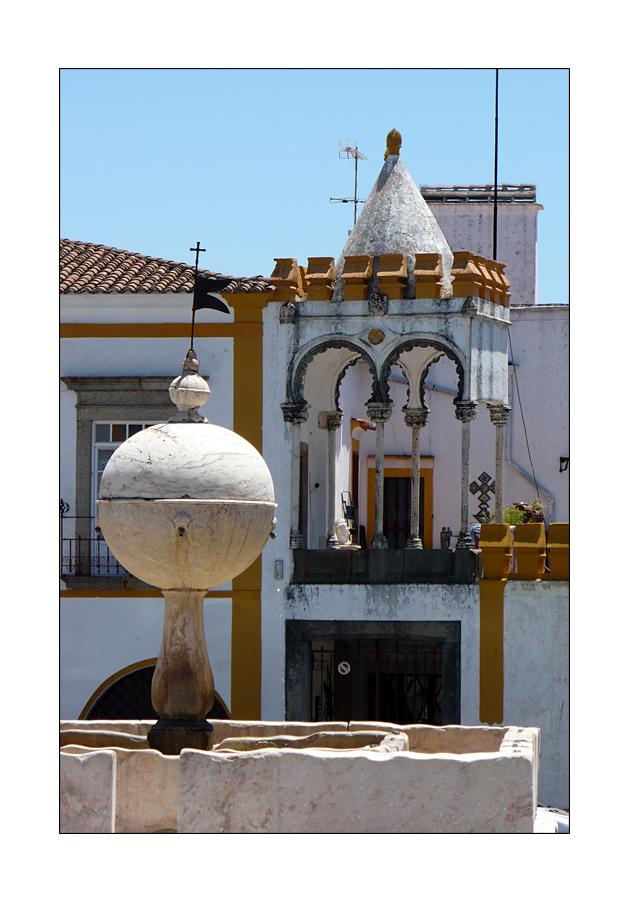 orientalisches Dach in Evora