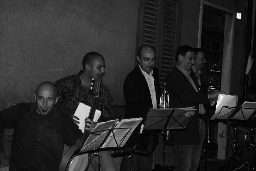 "Original Dixieland Segni Jazz Band 2006 ""Nei vicoli"""