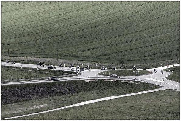 original Spitzbergen traffic jam