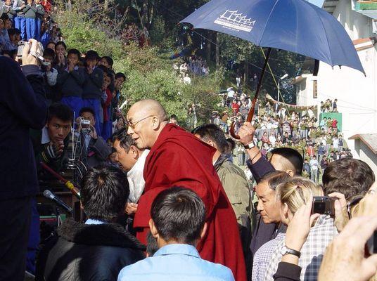 Originalbild des Dalai Lama