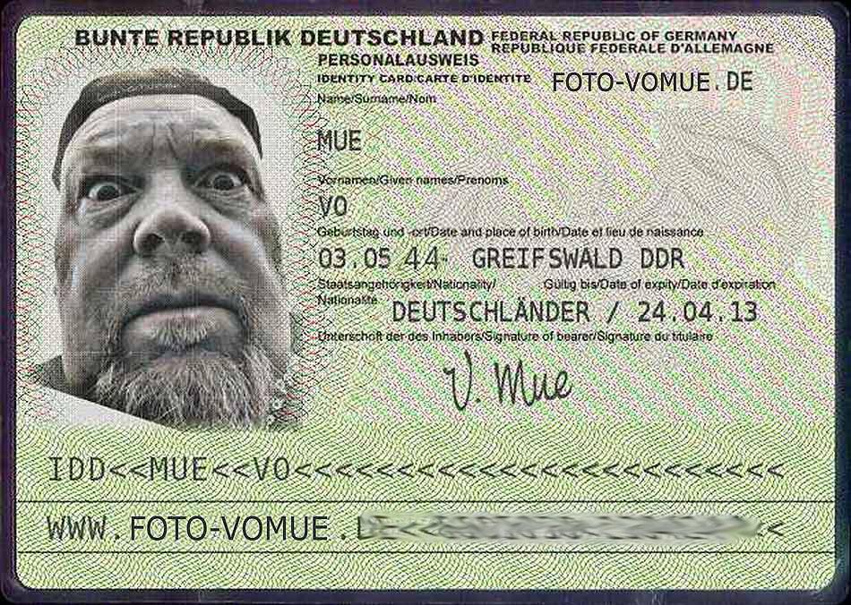 Ausweis Verloren Hamburg
