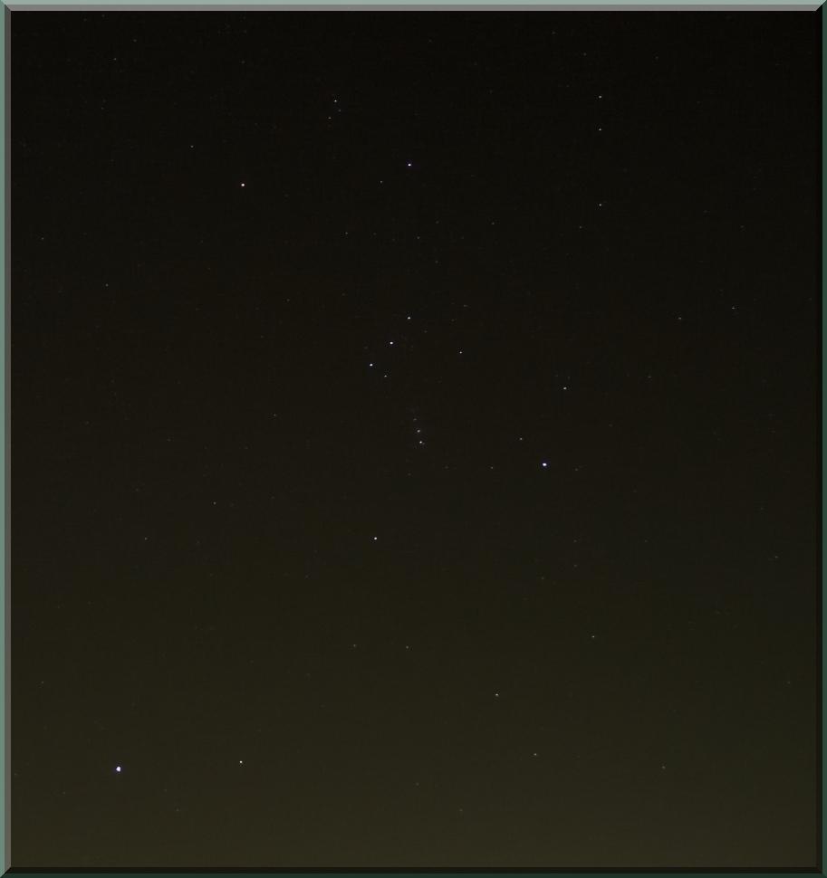 Orion, Hase und Sirius