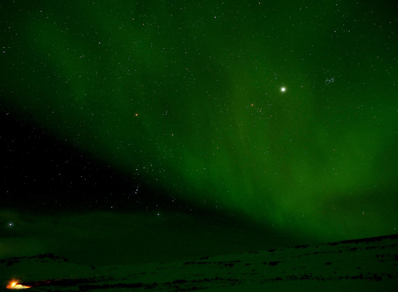 Orion in Aurora