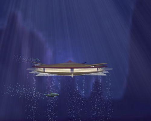 Orion startet vom Meeresgrund