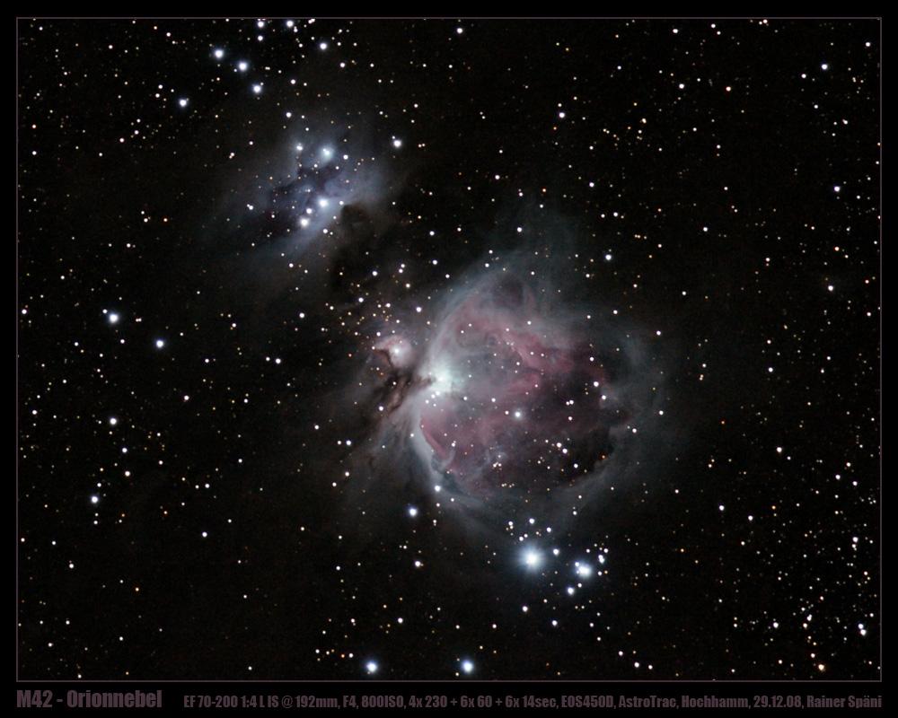 Orionnebel bei klarem Himmel :-))