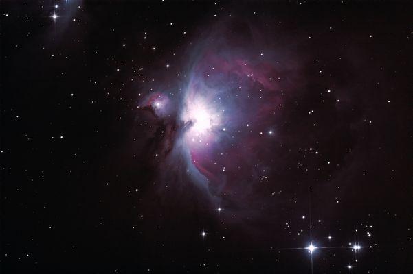 Orionnebel - korrigierter Reload