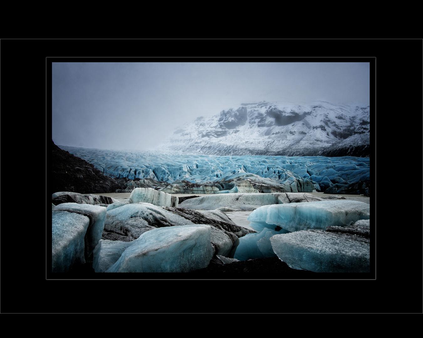 Orkan über Vatnajökull