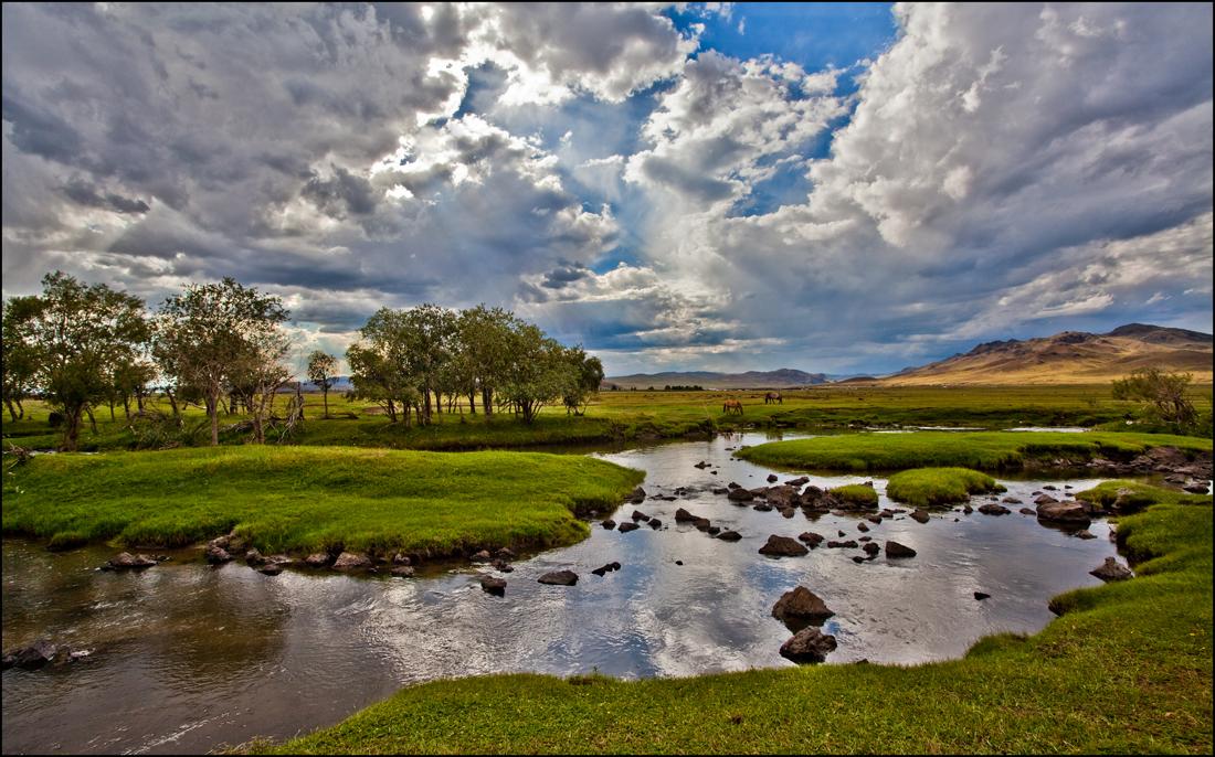 Orkhon-Landschaft