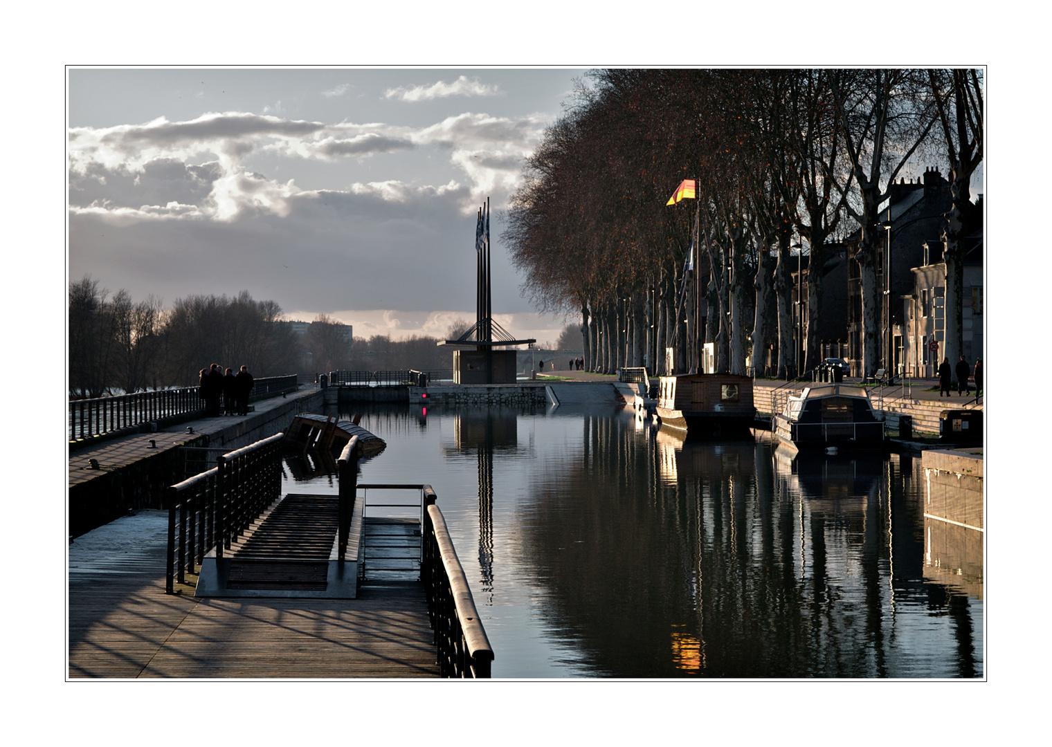 Orléans, la marine de Loire
