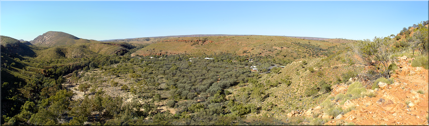 Ormiston Gorge, Panorama 2