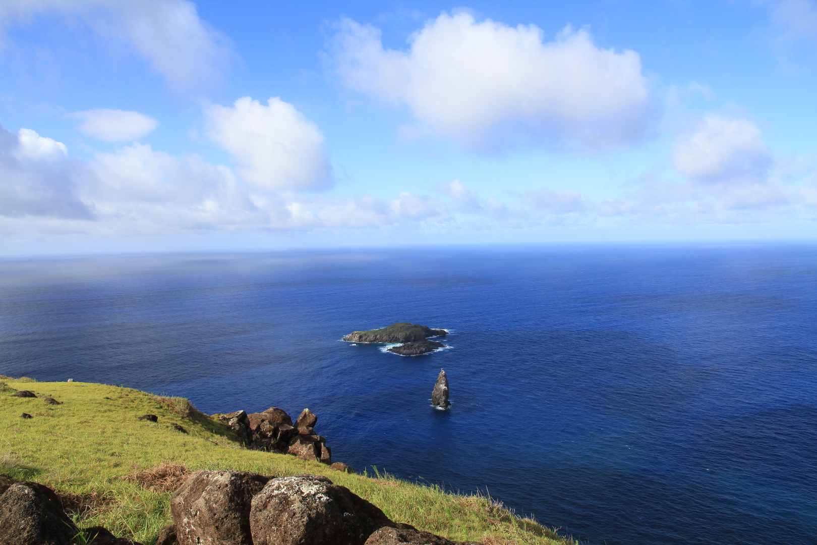 Oronko: Blick zu Vogelinseln