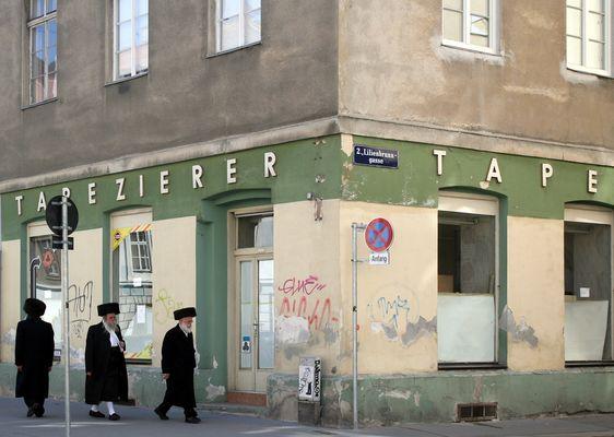 Orthodoxe Juden im Karmeliterviertel